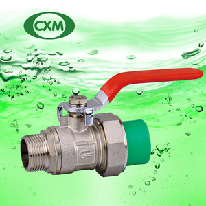 PPR Flexible Male Brass Ball Valve XM4018
